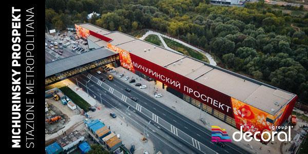 Richiedi la brochure Michurinsky Prospekt Stazione Metropolitana di Mosca