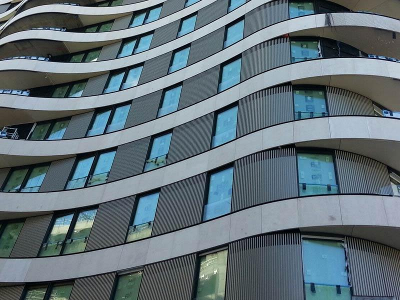 decoral references for hotels, aluminium references for hotels, powder coating aluminium profile